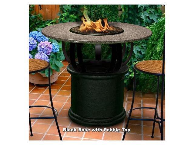 Outdoor Fireplace Pebbles : California outdoor concepts cb fp peb del mar bar