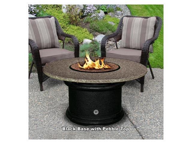 Outdoor Fireplace Pebbles : California outdoor concepts bk pg peb del mar