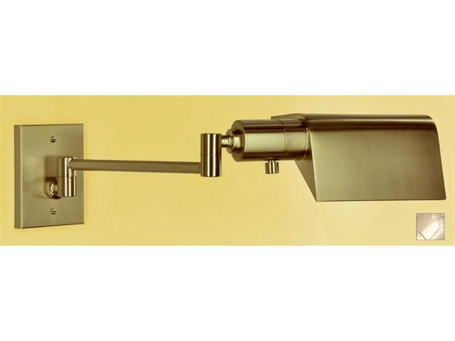 WPT Design Face Pared - BR Buenos Aires Swing Arm Sconce - Polished Brass