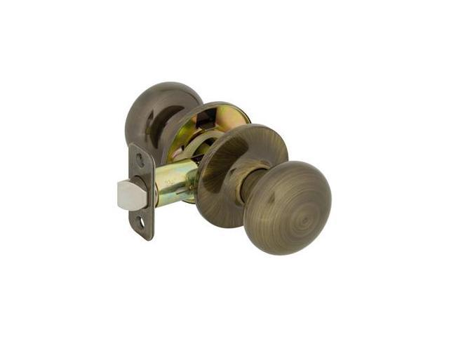 Callan KS1025 Saxon Series Grade 3 Privacy Knob Set, Polished Brass