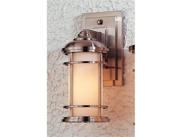 Feiss OL2200BS Lighthouse Brushed Steel Wall Mount Lantern
