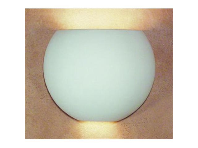 A19 1602 Curacoa Wall Sconce - Bisque - Islands of Light Collection