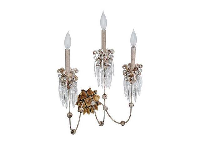 Flambeau Lighting SC1060-3 Venetian 3 Arm Light Sconce