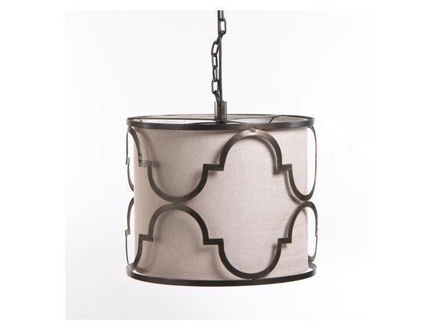 Quatrefoil Ceiling Pendant Lamp