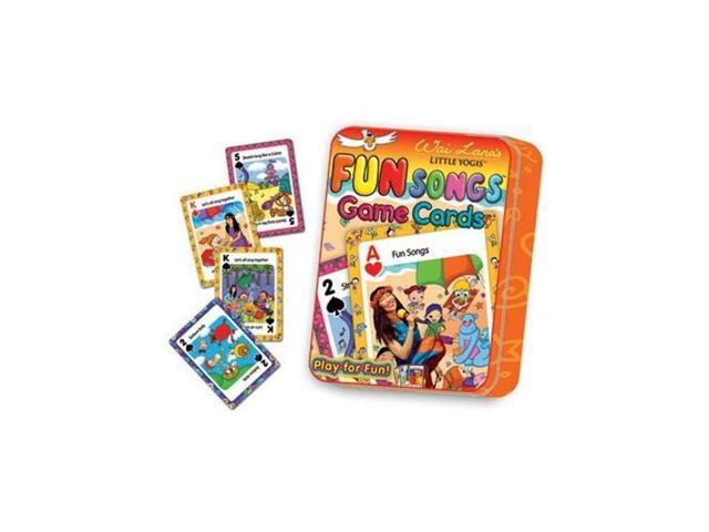 Wai Lana Productions 253 Little Yogis Fun Songs Game Cards