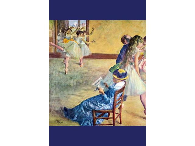 Buy Enlarge 0-587-25966-3C12X18 During the dance lessons - Madame Cardinal- Canvas Size C12X18