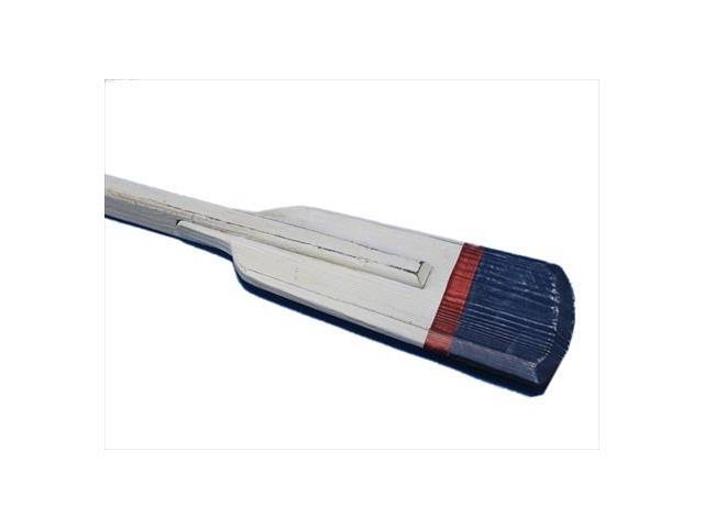 Handcrafted Model Ships Oar 36-313 Wooden Winthrop Squared Rowing Oar With Hooks 36 in. Decorative Accent