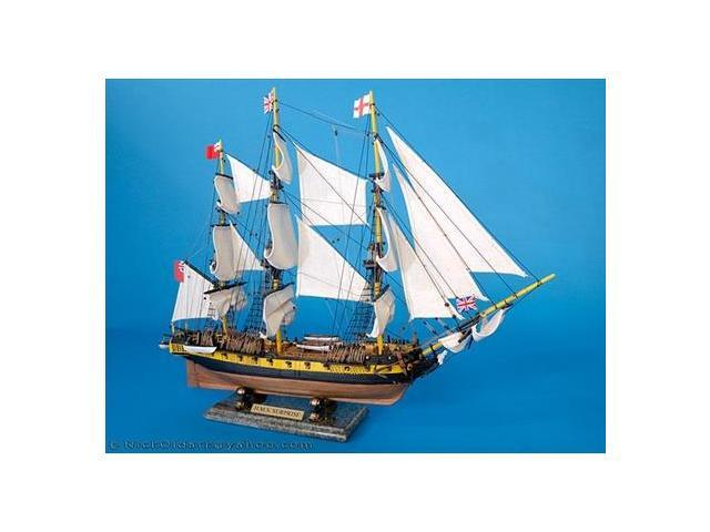 Handcrafted Model Ships A1603 Master And Commander HMS Surprise 30 in. Decorative Tall Model Ship