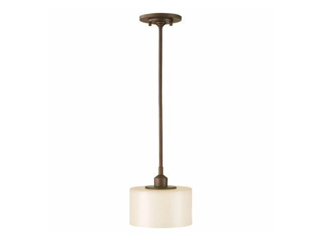 Feiss P1153CB Sunset Drive 1 Light Bronze Mini Pendant