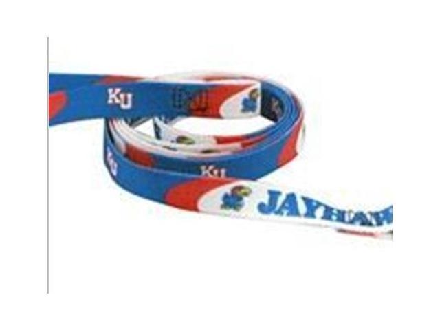 DoggieNation 716298969188 One Size Kansas Jayhawks Dog Leash