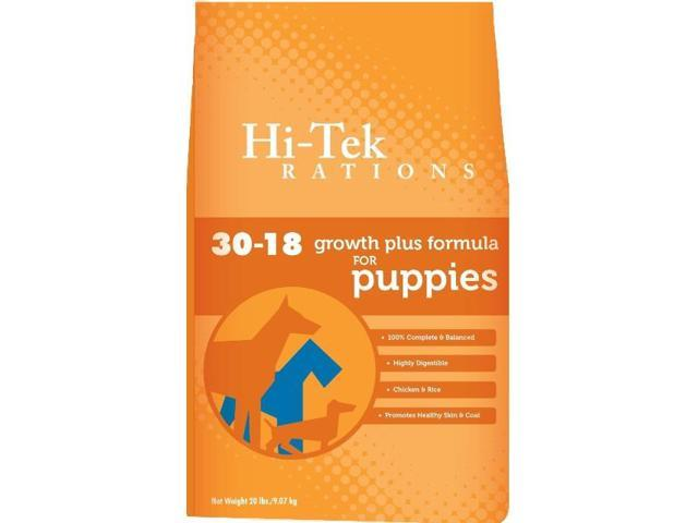 Hi tek 30 18 20 puppy dog food 20 pounds - Tek cuisines crissier ...