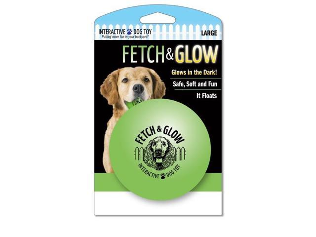 American Dog Toys Fetch And Glow Ball