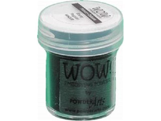 Wow Embossing Powder WOW-UH-WH00 Ultra High 15ml-Primary Ebony