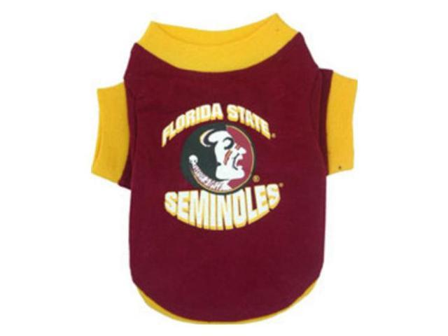 DoggieNation 023508079149 Large Florida State Dog Tee Shirt