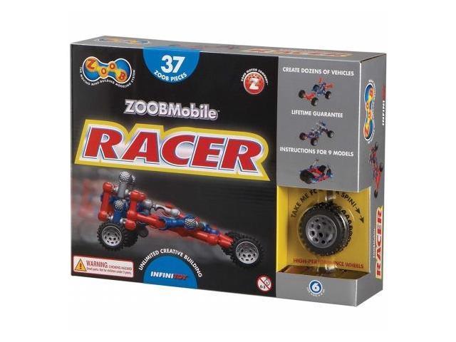 Slinky 12051 Zoob Mobile Racer Set 37pc-Racer