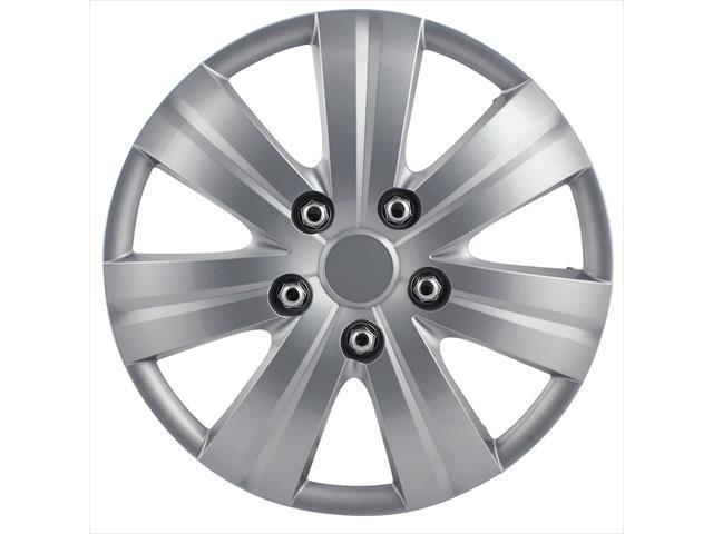 Pilot Automotive WH523-14S-BX 7 Spoke 14 In. Wheel Cover - Matte Silver