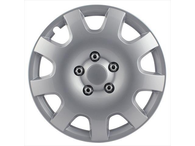 Pilot Automotive WH524-15S-BX 9 Spoke 15 In. Wheel Cover - Gear Silver