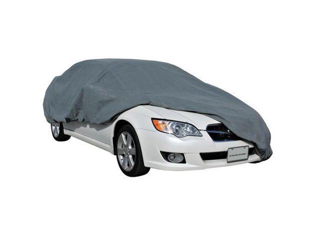 Pilot Automotive CC-6033 Quadra-Tech Four Layer Car Cover C3 Fits 171 To 200