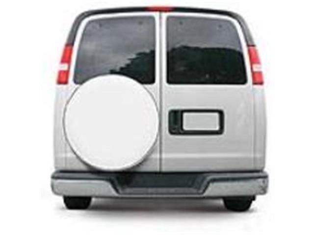 Classic Accessories 75130 Custom Fit Spare Tire Cover - Snow White - Model 4