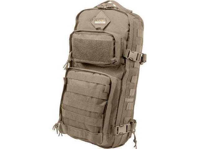 Loaded Gear Optics BI12340 GX-300 Tactical Sling Backpack - Tan