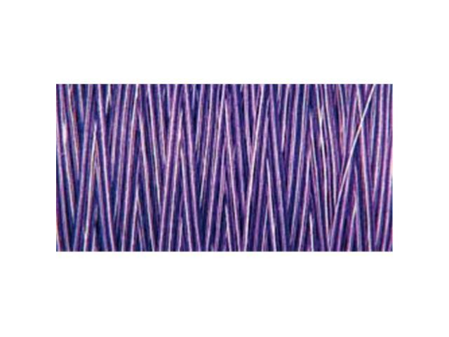 Natural Cotton Thread Variegated 876 Yards-Purple Passion