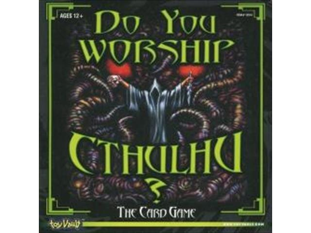 TOY VAULT Do You Worship Cthulhu Card Game