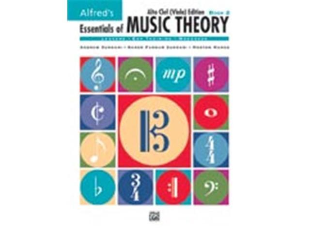 Alfred Publishing 00-18581 Essentials of Music Theory: Book 2 Alto Clef - Viola Edition - Music Book