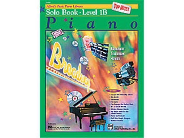Alfred 00-16496 Basic Piano Course- Top Hits Solo Book 1B - Music Book