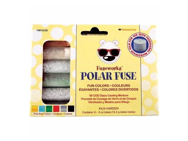 Diamond Tech Crafts FW74330 Fuseworks Polar Fuse Glass Powders-Fun