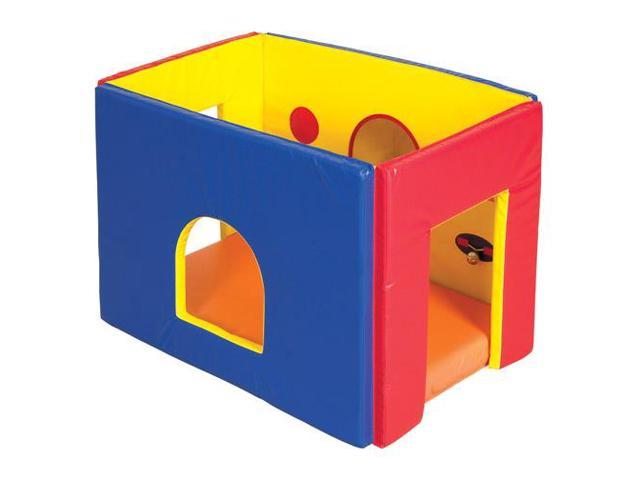 Early Childhood Resources ELR-12626 Softzone Discovery Play Cube