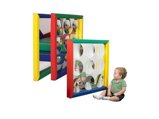 Early Childhood Resources ELR-12668 SoftzonePadded Mirror - 3pk