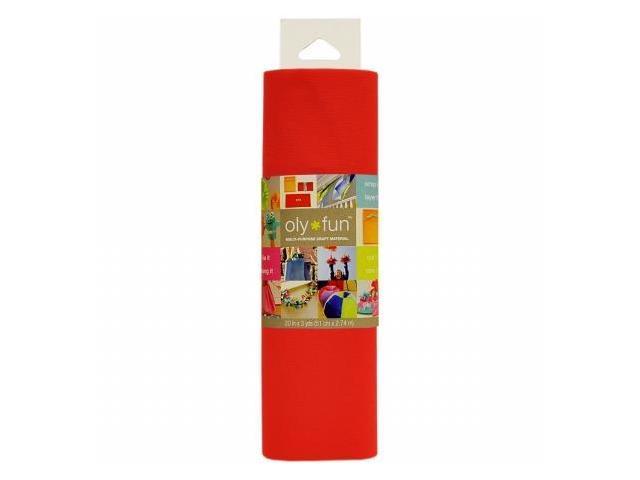 Fairfield LFGG-02 Oly Fun Multi-Purpose Craft Material 20'' Wide 3yd-Cherry Pop
