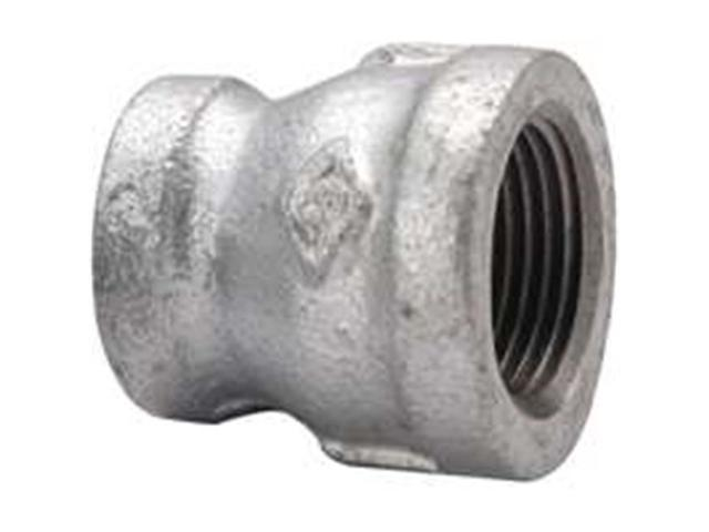 Worldwide Sourcing PPG240-10X6 0.37 x 0.12 in. Galvanized Reducing Coupling