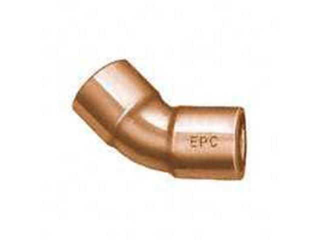 Elkhart Products 31096 .5 In. Wrot Copper 45 Degree Elbow