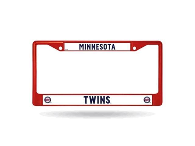 Minnesota Twins Metal License Plate Frame - Red