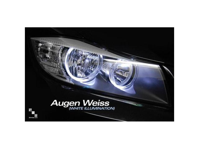 Bimmian LHU92AW4Y WeissLicht LED Halo Upgrade Kit - Ultra-Bright LED Version 4, Augen Weiss & White Illumination