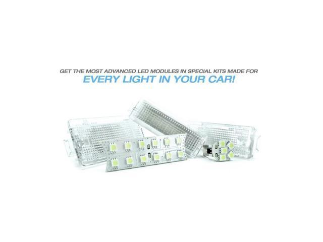Bimmian CLR92DFFY Courtesy Light LED Replacements- For E93 Cabriolet- with 2 tube bulbs in visors- 2 pcs for Front Footwell