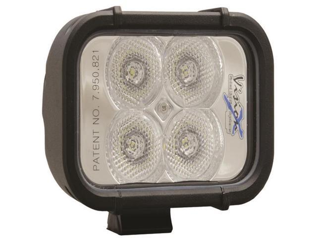 Vision X Lighting 4007529 4 in. Xmitter LED Bar Black 4 3w LEDs Flood