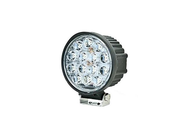 IPCW W2042-60 Universal 4 in. Round 14 LED Work Light, 60 Degree