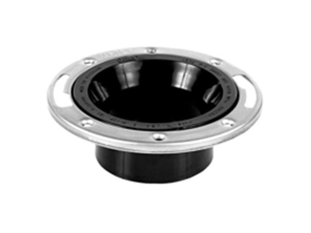 Oatey 43498 4 In. Abs Closet Flange Stainless Steel Ring
