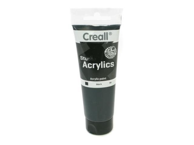 American Educational Products A-33799 Creall-Studio-Acrylics Tube 120Ml 99 Black