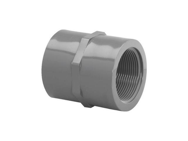 Genova Products Inc 301228 Coupling Schedule 80, PVC 2 in. Fip