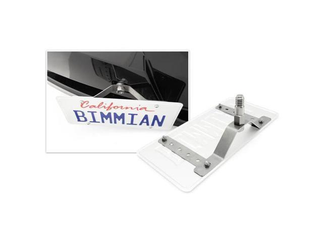 Bimmian TPH89NA92 Mechunik Tow Hook License Plate Holder, Fits For BMW E89 - Orion Silver Metallic