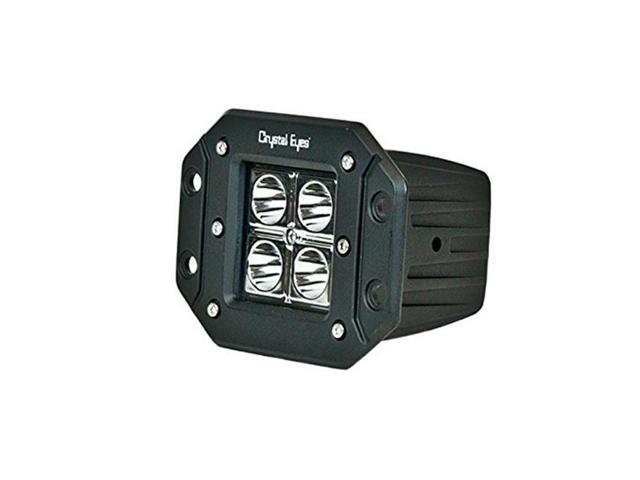 IPCW W1004S20-30 Crystal Eyes 5 in. Square Visor 20 Watts, 30 Degree
