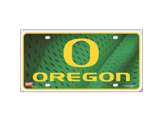 Rico LP-5432 Oregon Ducks Deluxe Metal Novelty License Plate