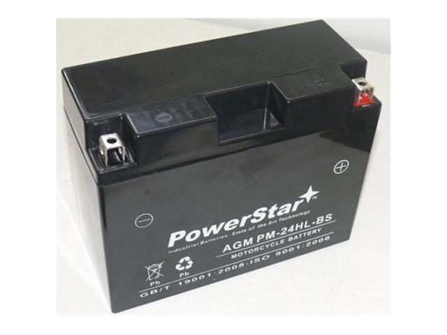 PowerStar PM-24HL-BS-11 Ytx24Hl-Bs Scorpion 12V 350 Cca Sealed Agm Motorcycle Battery