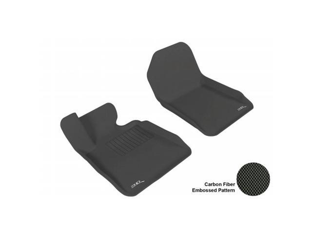 3D MAXpider L1BM02411509 BMW 3 SERIES (E93) 2007-2013 CONV KAGU BLACK R1 (NOT FIT AWD MODEL) Floor Mat