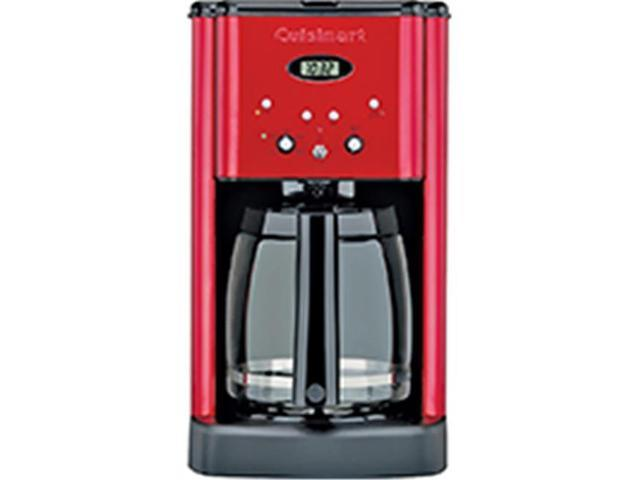 Cuisinart-Waring DCC1200MR Coffeemaker, 12 Cup, Red