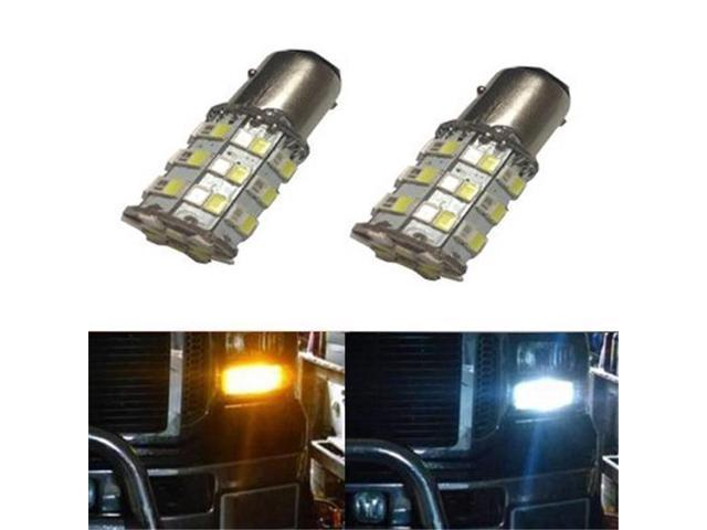 GP-Thunder 1157-SMD-60D-R-A Switchback 60 LED Bulbs For Turn Signal Lights - Red & Amber