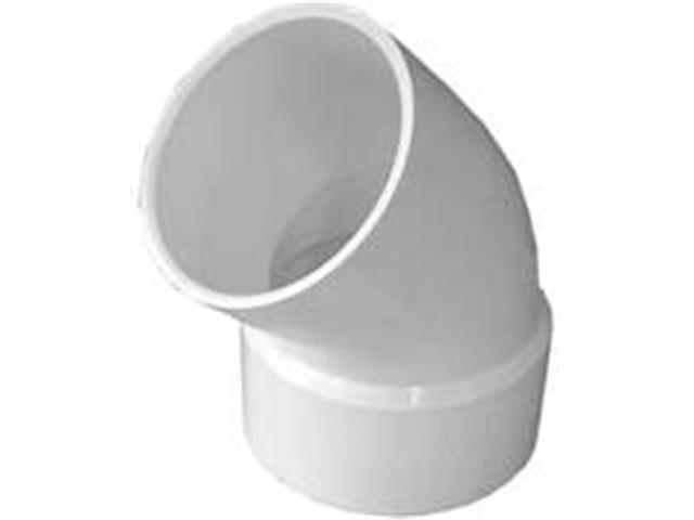 Genova Products 42730 3 In. Pvc Sewer & Drain 45 Degree Street Elbow